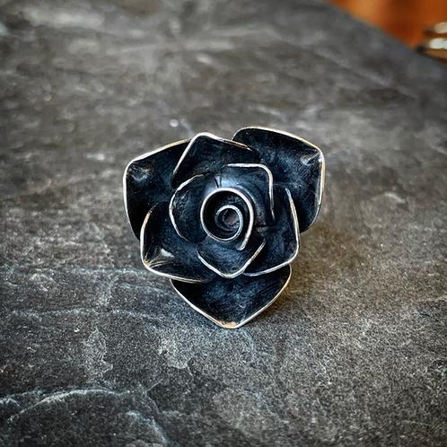 Rose Ring, Size 8 (Large Petal)