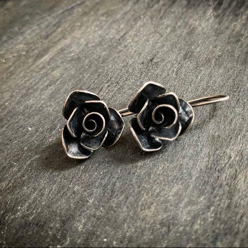 Rose Earrings - Made to Order