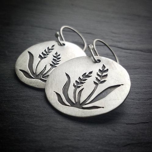 Wheat Earrings in Sterling Silver - Wholesale