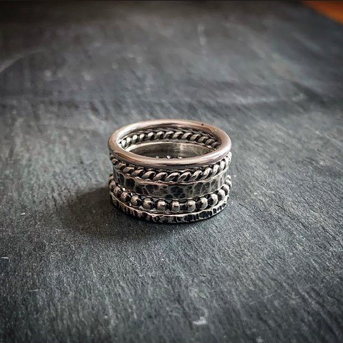Sterling Silver Stacking Rings - Made to Order