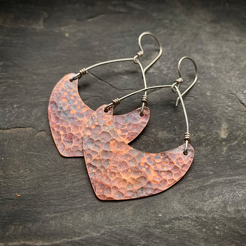 Hammered Copper Points