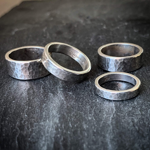 Hammered Band - 8mm - Wholesale