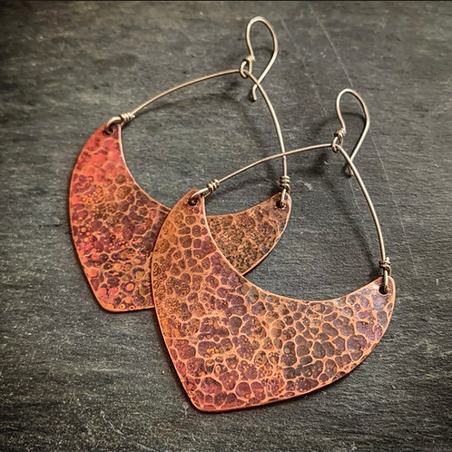 Large Hammered Copper Points