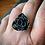 Thumbnail: Rose Ring, Size 8 (Large Petal)