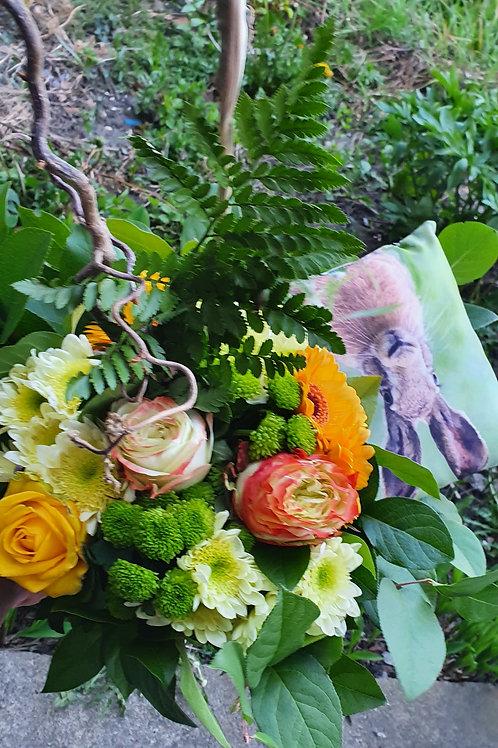 Bouquet rond de paques