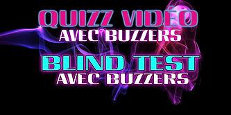 blind test avec Buzzer, Quizz audio, vidéo, animateur,