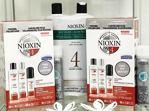 Nioxin Hair Growth System 1L Combo Pack