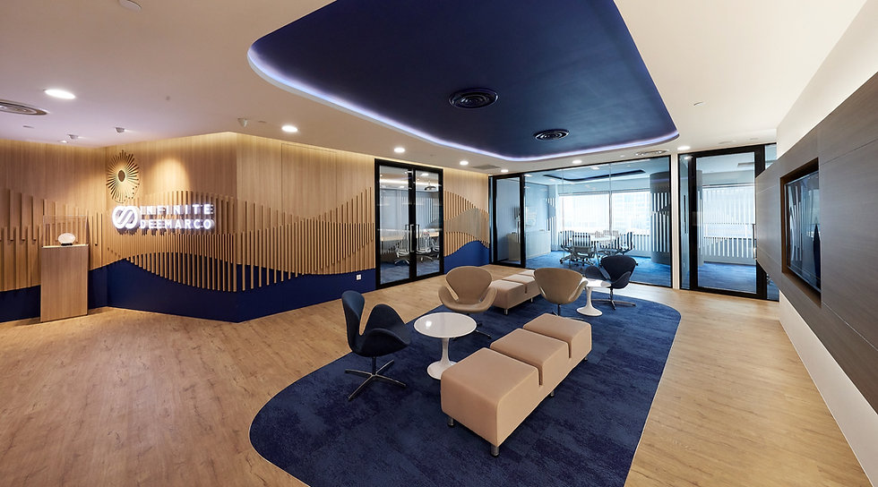 Suntec City Office Interior