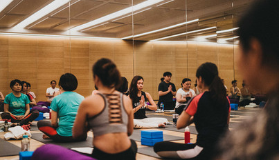 Pure Yoga's state of the art yoga studio