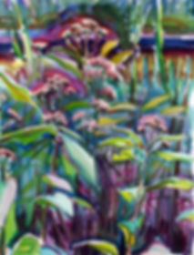 Robin Whitfield Grenada Afterglow Film Festival Mississippi Art Artist swamp flowers