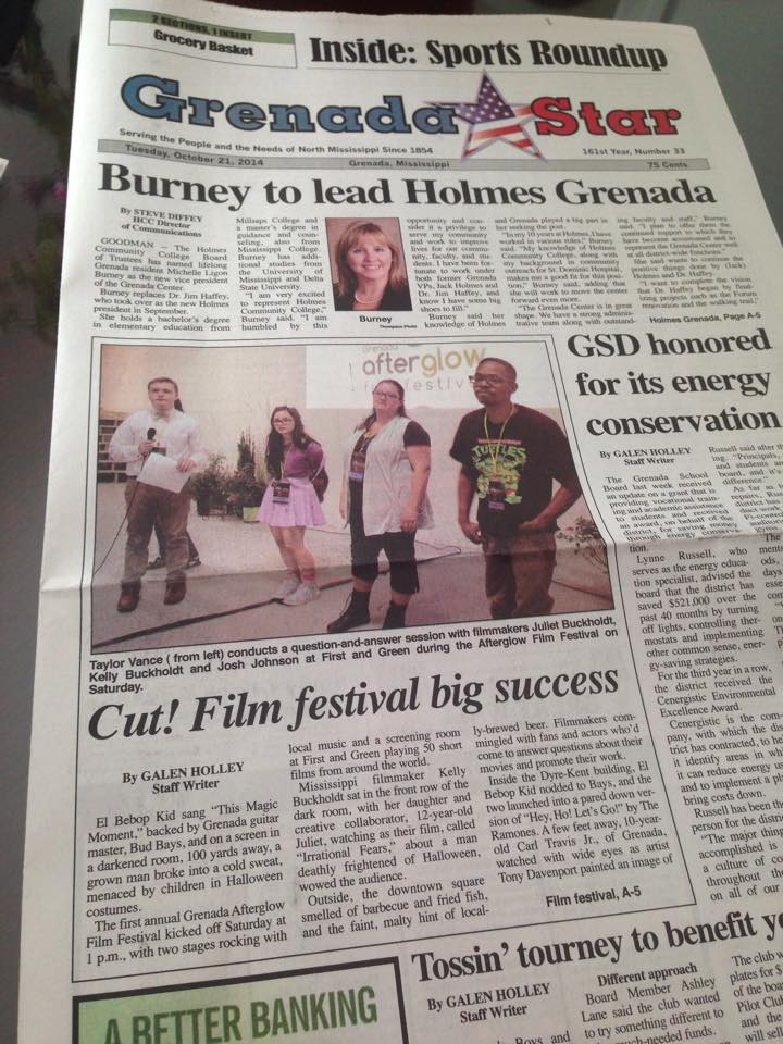 Front Page of the GrenadaStar