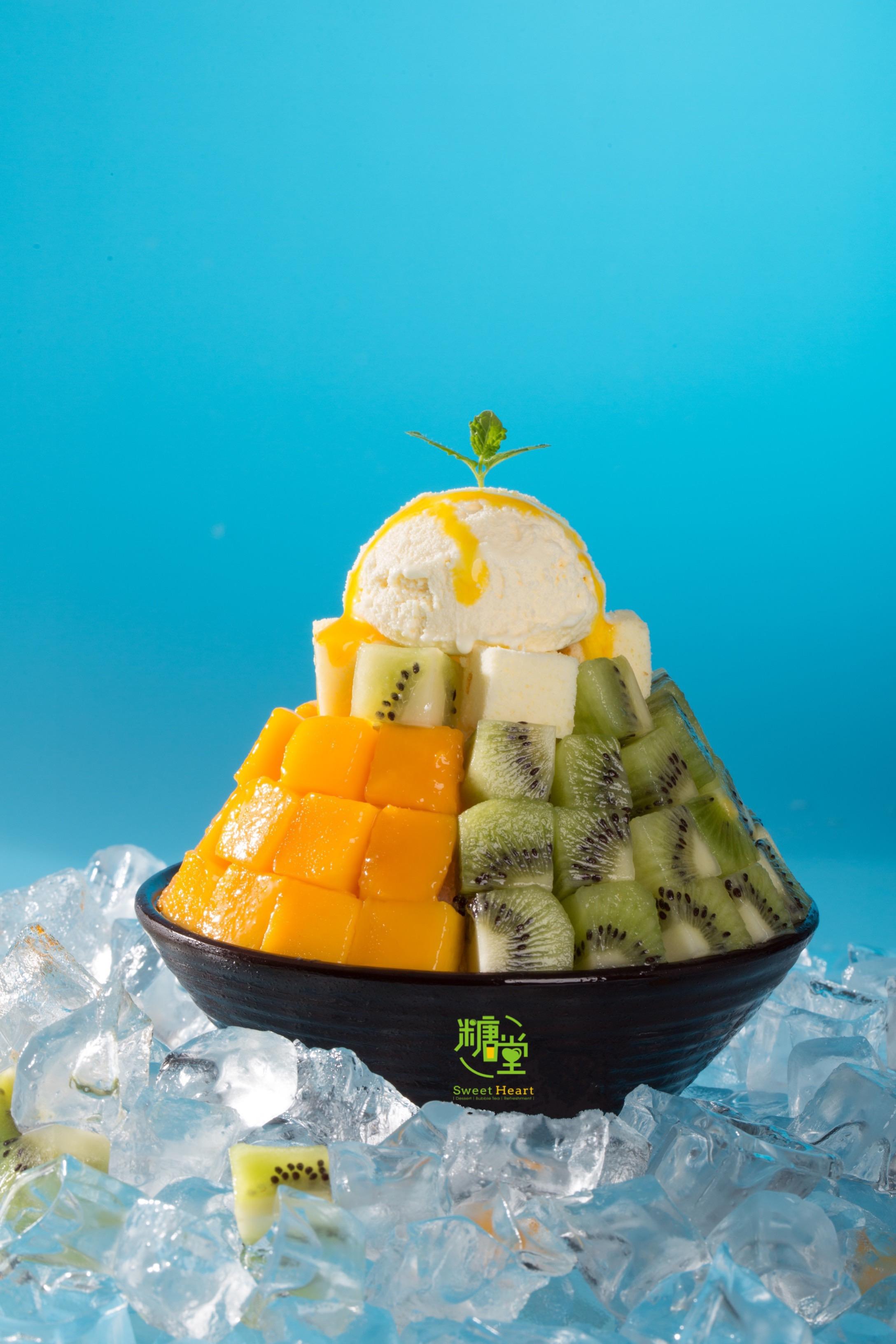 鮮果雙拼雪冰Double Fresh Fruit Shaved Ice