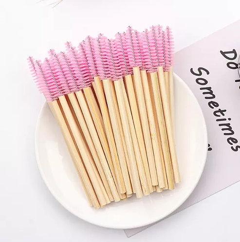 Eco Friendly Bamboo  Mascara Brush ( pack of 50 )