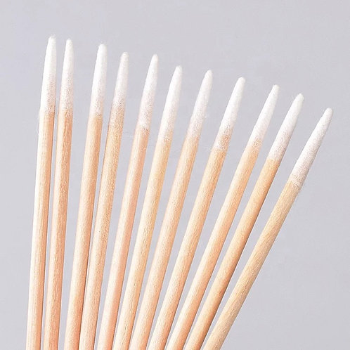 Disposable Micro Cotton Swab ( sharp tip- pack of 100)