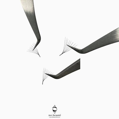 8D (0.05) - Premade Volume Fans (1000 Fans per Tray)