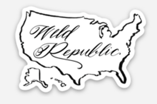 Weld Republic Map Sticker