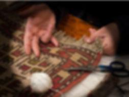 restauración de alfombras y limpieza de alfombras