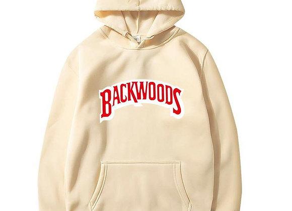 Beige backwoods hoodie