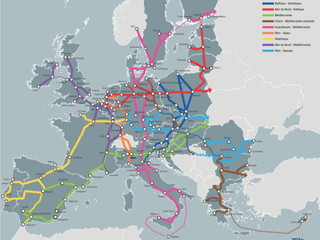 """Géographie, urbanisme, mobilité et transports européens dans """"Nos géographies"""""""