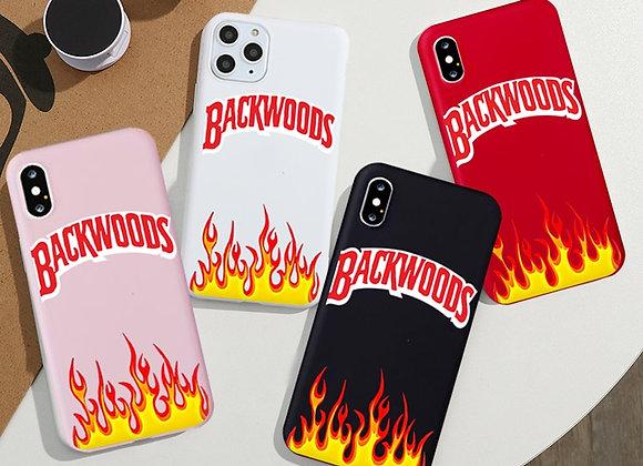 Blackwood flame phone cases