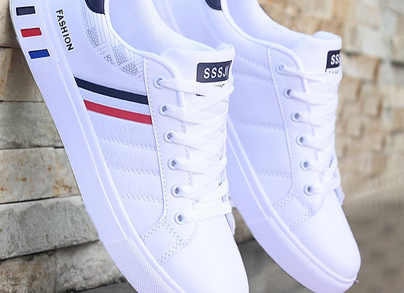 Mikarause White Casual Shoes Mocassin Fashion Breathable Shoes