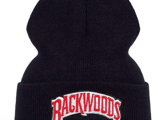 Backwoods black beanie