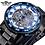 Thumbnail: Winner Golden Watches Classic Rhinestone Clock Roman Analog Male Skeleton Clocks