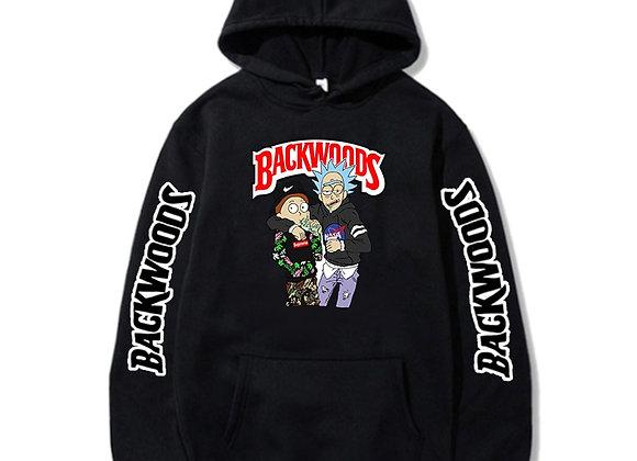 Cartoon backwoods hoodie