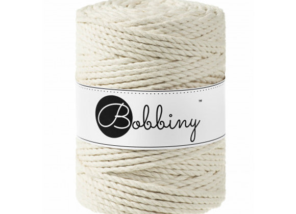 Bobbiny Macrame Rope 3ply 5mm