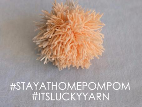POM POMS/COFI #stayathomepompom