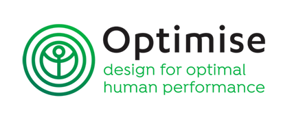 Optimise Ltd, design for optimal human performance (Logo)