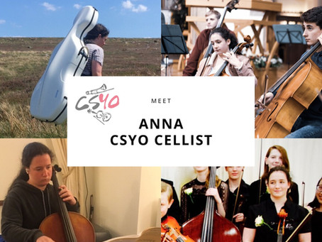 Meet the Members: Anna on Cello....