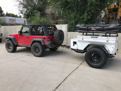 6' Off Road w/ short RTT rack
