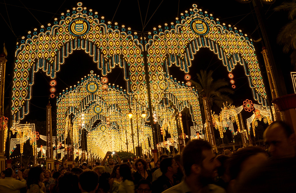 Lights of the feria