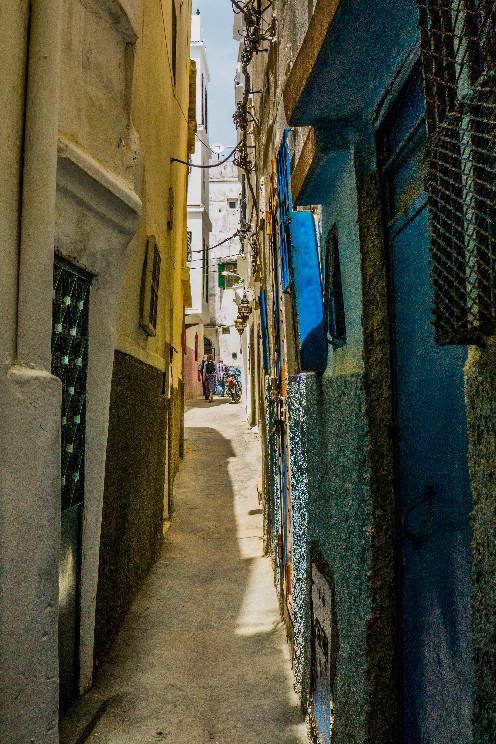 Narrow alleys of the medina