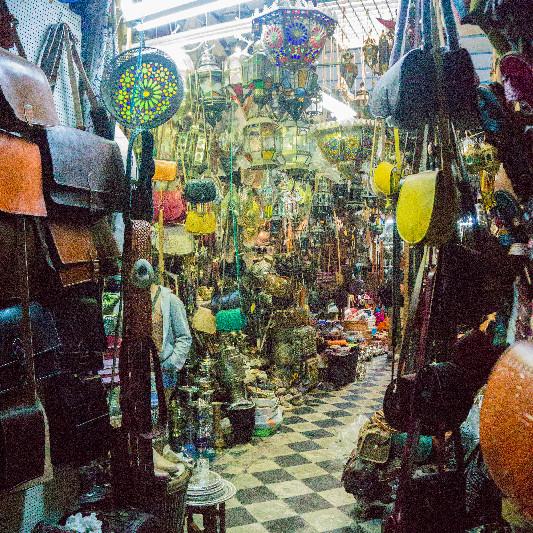 Shopping in the medina