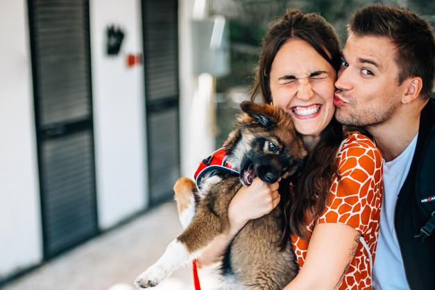 Lisa & Benni mit Wilma
