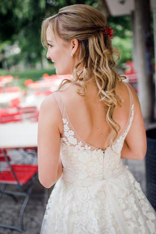 Zauberhaftes Brautkleid