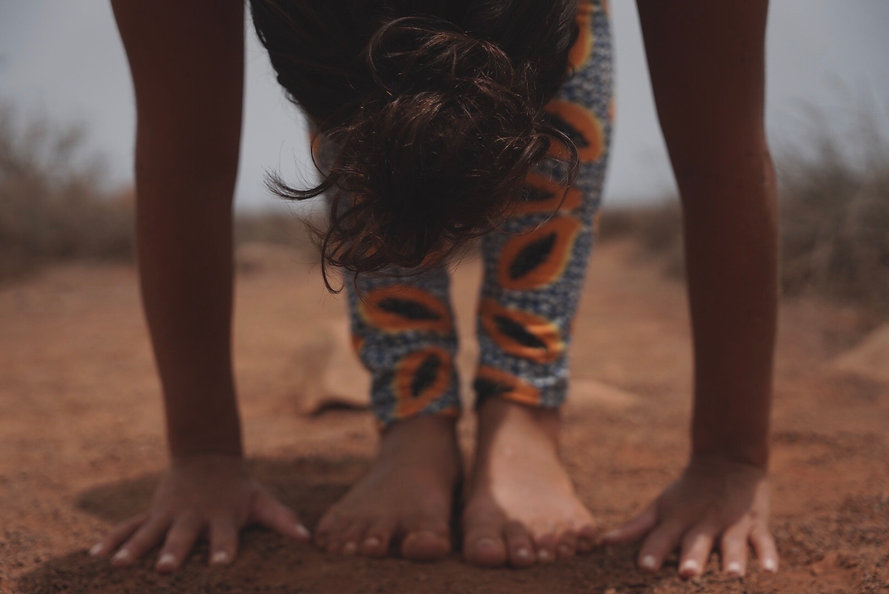 Yoga Vorbeuge