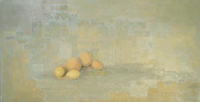 Still Life With Lemons - Oil on Canvas