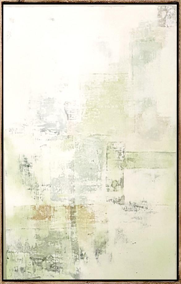 Into the Mist - Acrylic on Wood Panel