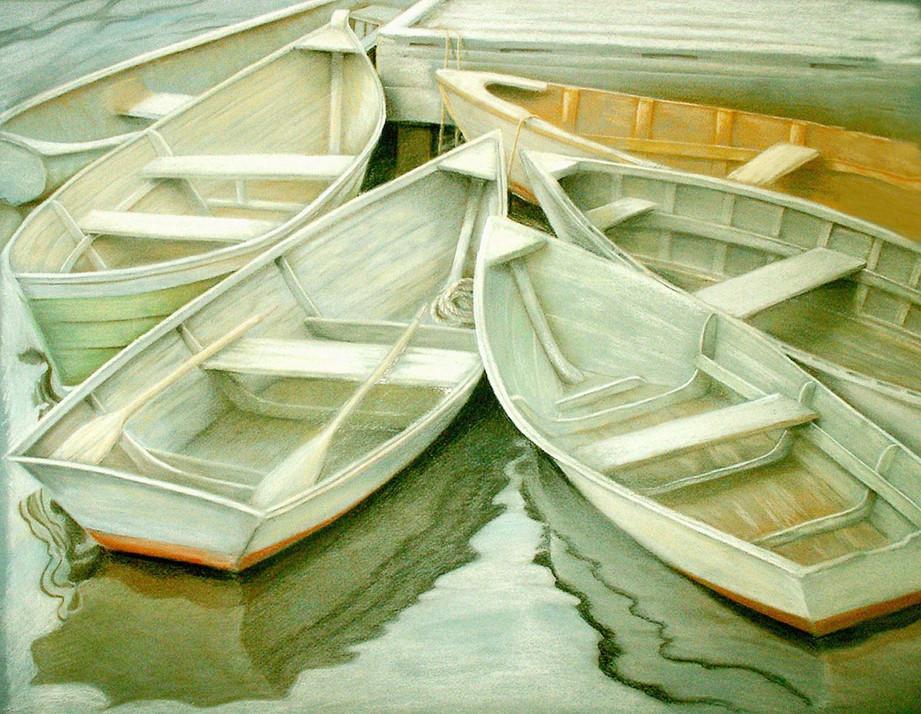 Dinghy Dock - Pastel