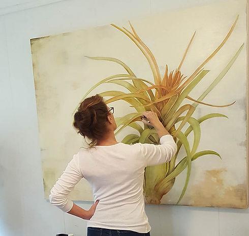 Bromeliad in progress.jpg