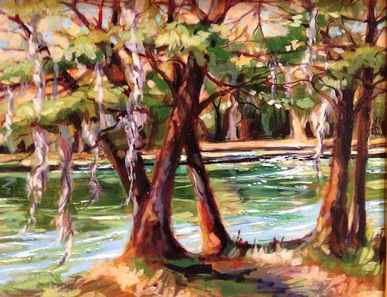 River High - Oil     SOLD