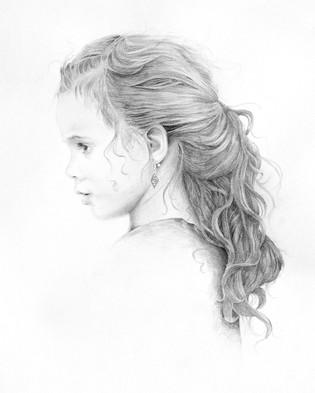 Jocelyn - Graphite Drawing