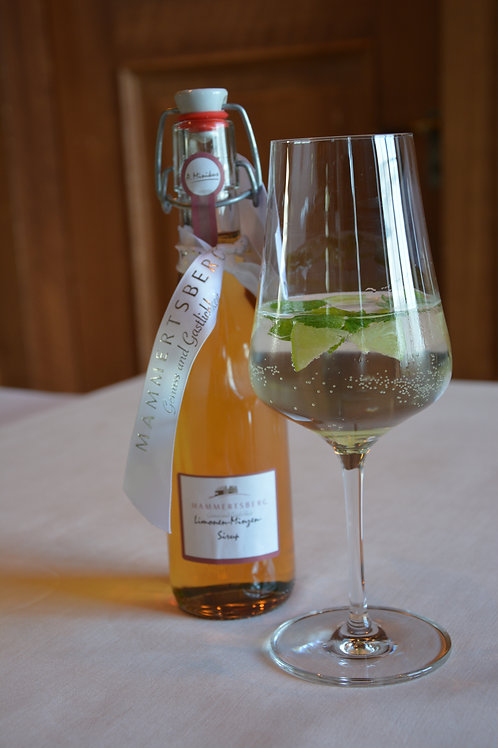 Limonen- Minzensirup