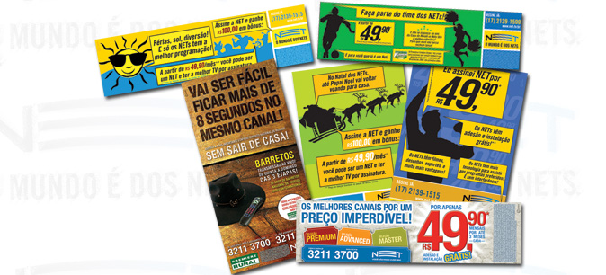 Folhetos e Anúncios