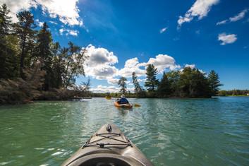 Kayak To Voyageur Island