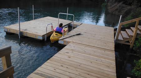 Voyageur Island Dock Two