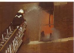Traverse Bay Woolen Co. Fire 007